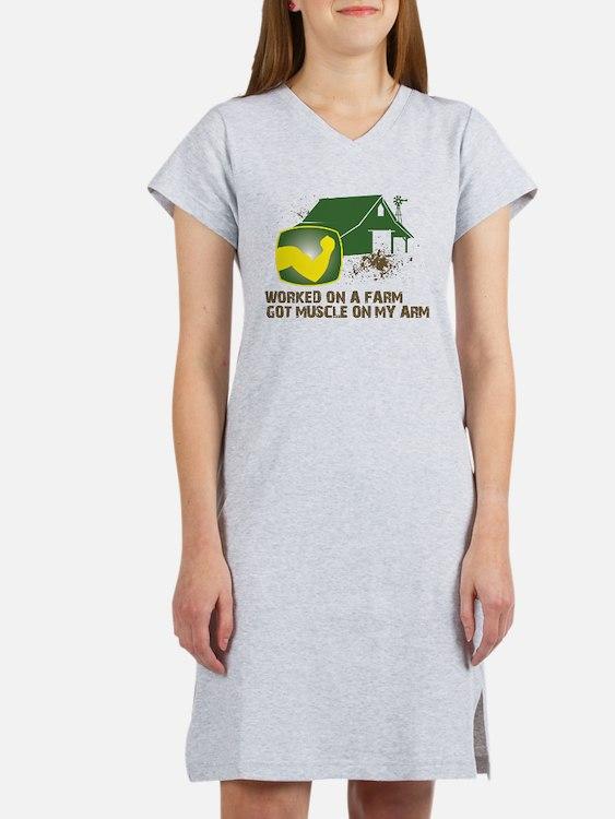 Cute Farm Women's Nightshirt
