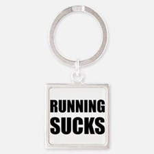 Running sucks Keychains