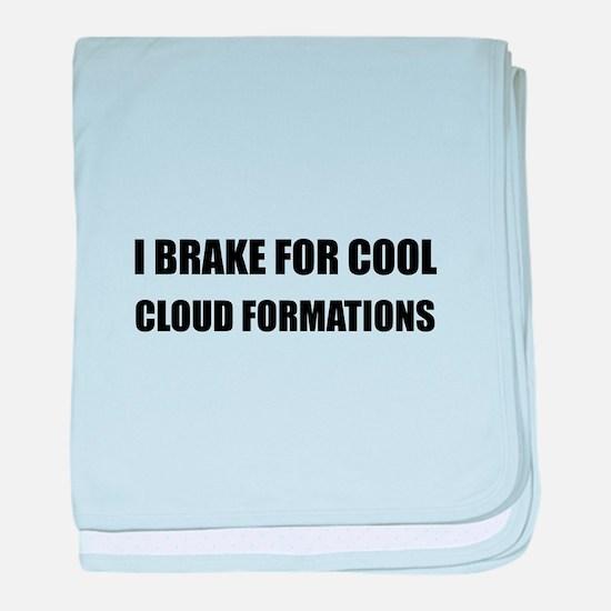 Brake Cloud Formations baby blanket