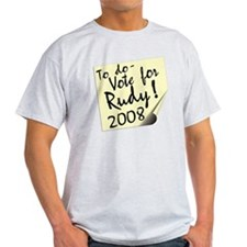 Vote Rudy Giuliani Reminder T-Shirt