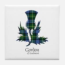 Thistle - Gordon of Esselmont Tile Coaster