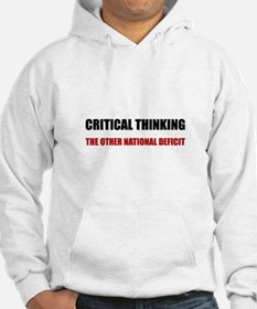 Critical Thinking National Defic Hoodie