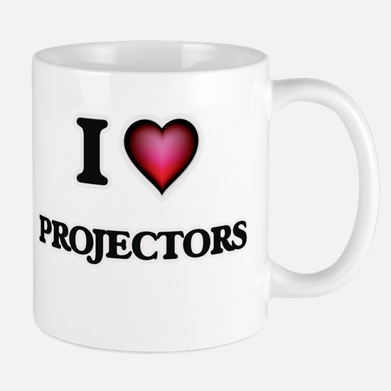I Love Projectors Mugs