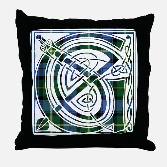 Monogram - Gordon of Esselmont Throw Pillow