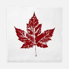 Cool Maple Leaf Souvenirs Canada Queen Duvet