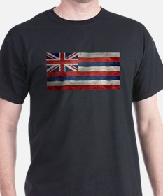 State Flag of Hawaii, retro style T-Shirt