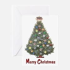 Las Vegas Merry Christmas Cards Pk of 10 Greeting