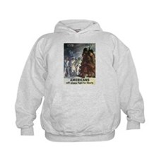 Americans Will Always Fight F Hoodie