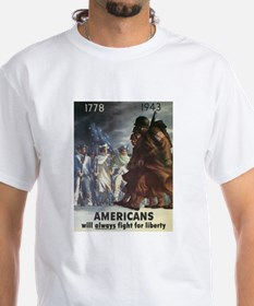 Americans Will Always Fight F Shirt