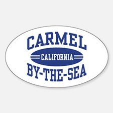 Carmel By The Sea Sticker (Oval)