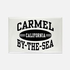 Carmel By The Sea Rectangle Magnet
