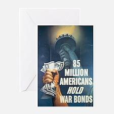 85 Million Americans Greeting Card