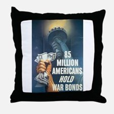 85 Million Americans Throw Pillow