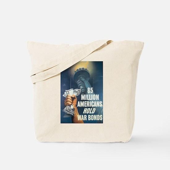 85 Million Americans Tote Bag