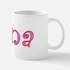 Nana cutout design Mug