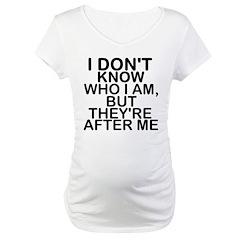 Slogan - Who am I Shirt