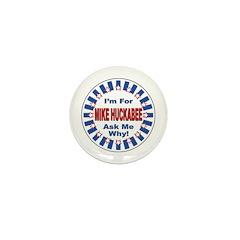 Mike Huckabee for President 2008 Mini Button