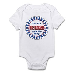 Mike Huckabee for President 2008 Infant Bodysuit