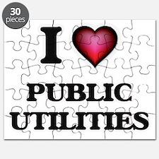 I Love Public Utilities Puzzle