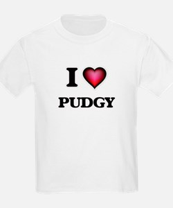 I Love Pudgy T-Shirt