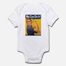 Rosie The Riveter Infant Bodysuit