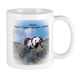 Mascot of the wild horses of sand wash basin Small Mugs (11 oz)