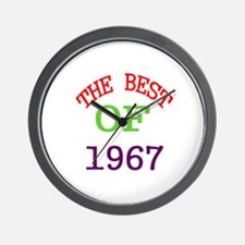 The Best Of 1967 Wall Clock