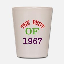 The Best Of 1967 Shot Glass