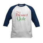 Blessed Yule Kids Baseball Jersey