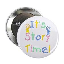 "Story Time Babies 2.25"" Button"