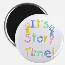 Story Time Babies Magnet