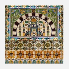 Tile by Courthouse stairway Tile Coaster