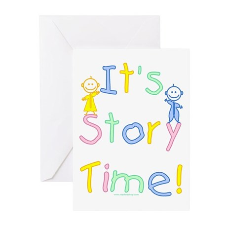 Story Time Babies Greeting Cards (Pk of 10)