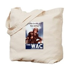 Women's Army Corps Tote Bag