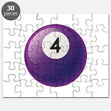 Billiard Pool Ball Puzzle