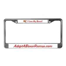 AABR License Plate Frame
