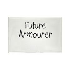 Future Armourer Rectangle Magnet