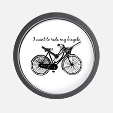 """""""Want To Ride My Bicycle"""" Motivational W"""