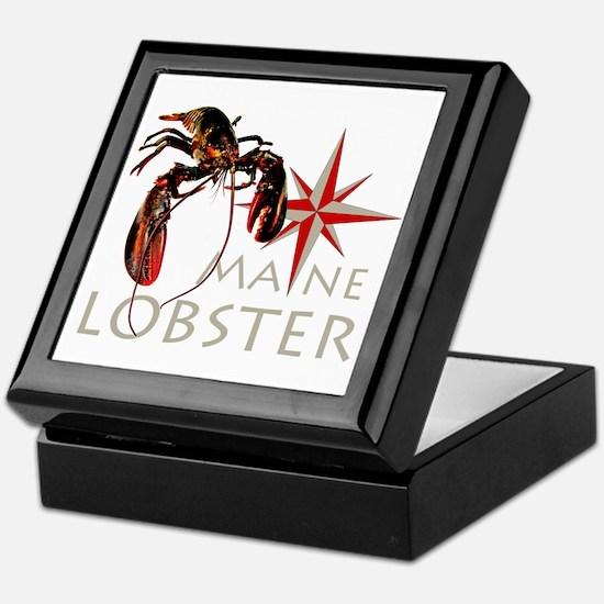 Maine Lobster Keepsake Box