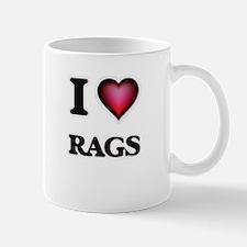 I Love Rags Mugs