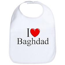 """""""I Love Baghdad"""" Bib"""