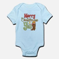 Christmas Y'all Infant Bodysuit