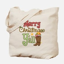 Christmas Y'all Tote Bag