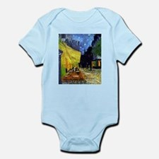 Cafe Terrace at Night by Van Gogh Body Suit