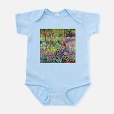 The Iris Garden by Claude Monet Body Suit