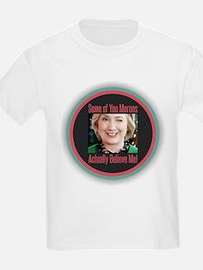 Hillary - Morons T-Shirt