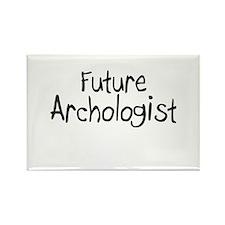 Future Archologist Rectangle Magnet