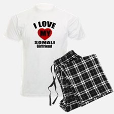 I Love My Somalia Girlfriend Pajamas