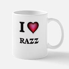 I Love Razz Mugs