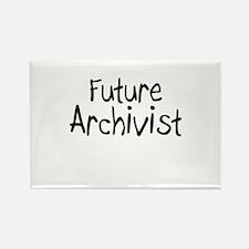 Future Archivist Rectangle Magnet